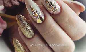 Дизайн черного маникюра с золотом: маникюр, фото дизайна ногтей