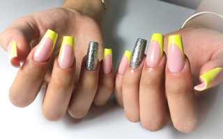 Длинные фиолетовые ногти по технологии арочного наращивания: маникюр, фото дизайна ногтей