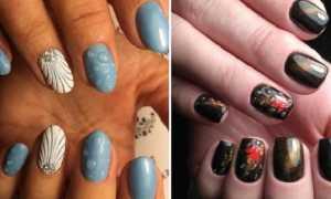 """Маникюр с желтой втиркой и """"каплями"""": маникюр, фото дизайна ногтей"""