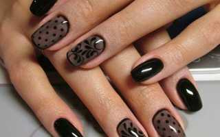 Вуаль на коротких ногтях: маникюр, фото дизайна ногтей