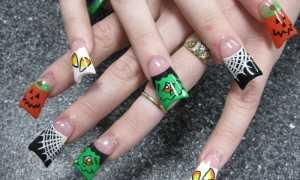 Маникюр для стильной ведьмы: маникюр, фото дизайна ногтей