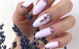 Яркий летний маникюр с лунным френчем: маникюр, фото дизайна ногтей