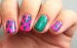Маникюр с кактусом: маникюр, фото дизайна ногтей