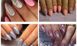 Втирка в маникюре на длинные ногти: маникюр, фото дизайна ногтей