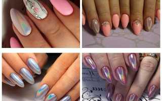 Втирка с розовым шеллаком: маникюр, фото дизайна ногтей