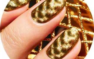 Асфальтные ногти с золотом: маникюр, фото дизайна ногтей