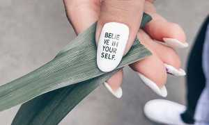 Деловой маникюр с буквами: маникюр, фото дизайна ногтей