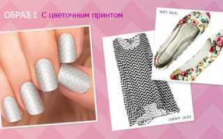 Зигзаг-узоры в розовом маникюре: маникюр, фото дизайна ногтей