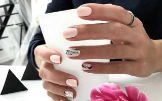 Жидкая фольга в маникюре на длинные ногти: маникюр, фото дизайна ногтей